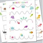 KidBloom - Drawing line card